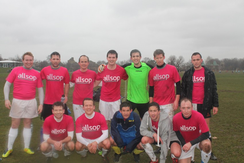 Allsop Football Team